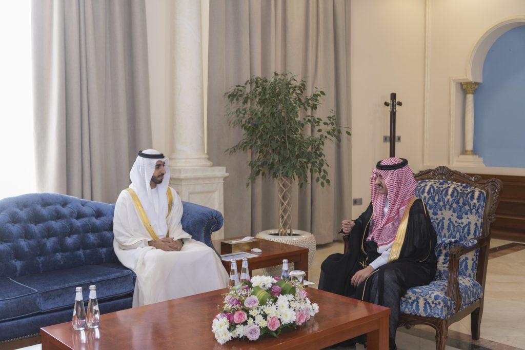 أمير الجوف التقى سفير دولة الإمارات لدى المملكة