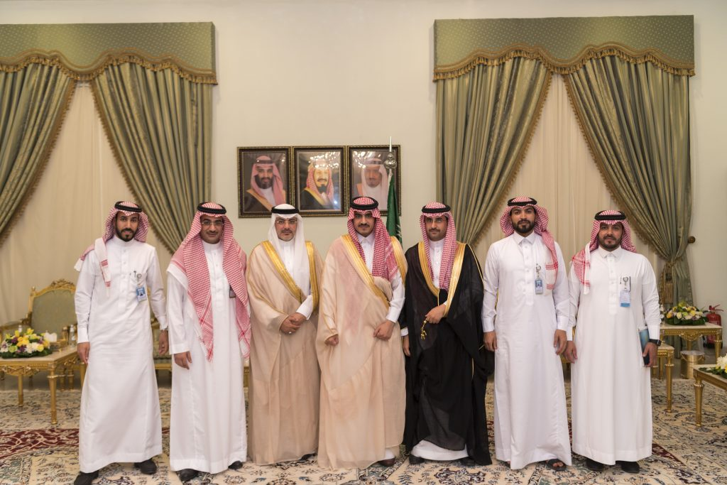 أمير الجوف يلتقي المدير العام التنفيذي لمدينة الأمير محمد بن عبدالعزيز الطبية