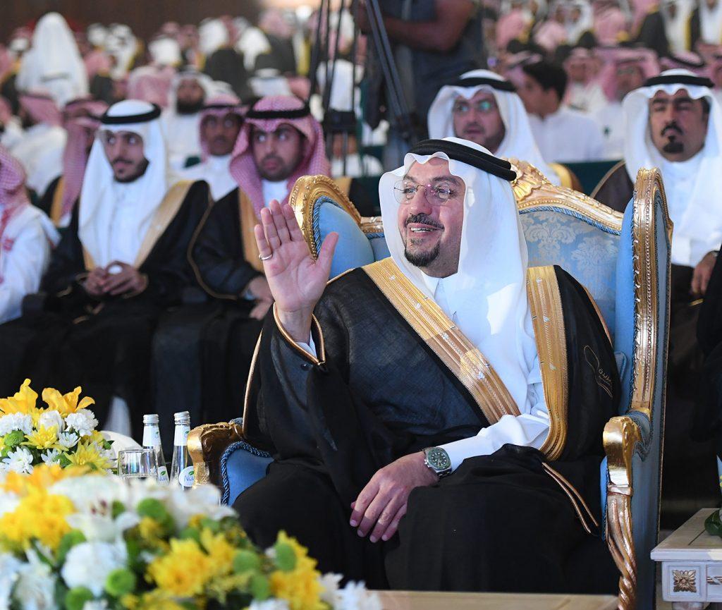 أمير القصيم يشهد حفل تخرج طلاب كليات بريدة الأهلية
