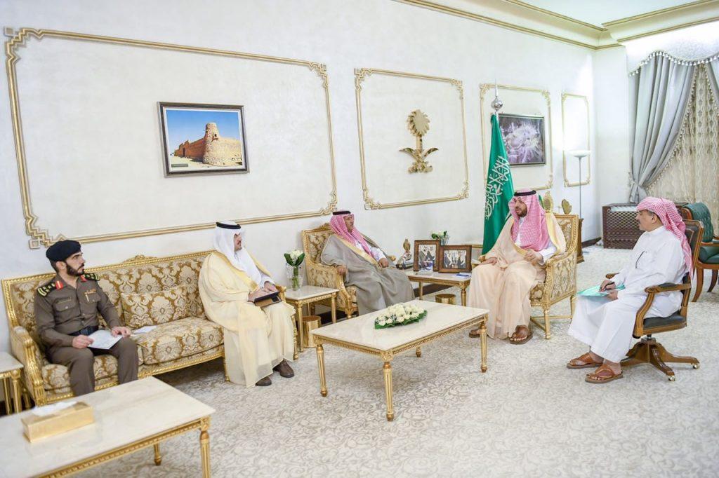أمير الشمالية يعلن عن إطلاق حملة تفريج كربة سجناء المنطقة