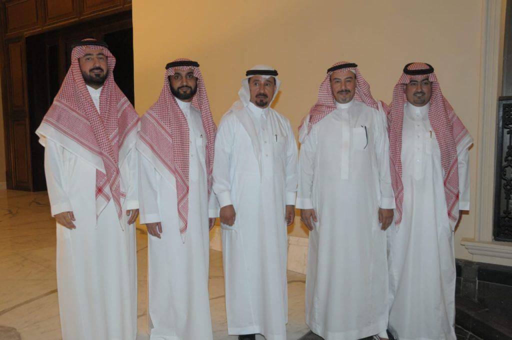 عبدالمحسن الراجحي يحتفل بأحفاده