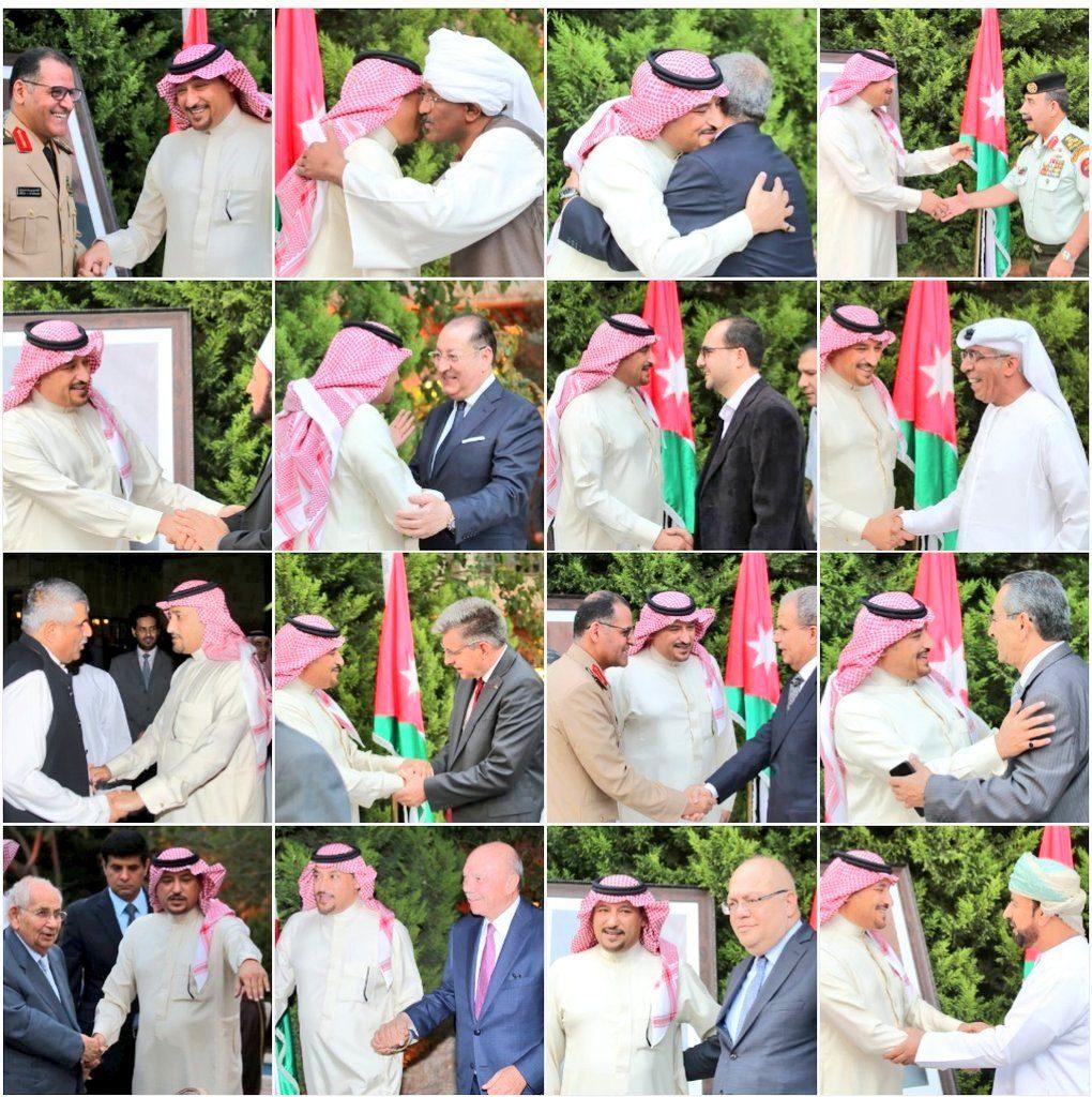 سفارة المملكة في الأردن تقيم مأدبة حفل الإفطار السنوي