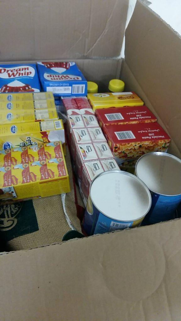 """بر معشوقة وتربة الخياله"""" توزّع 300 سلة غذائية على الأسر المحتاجة"""