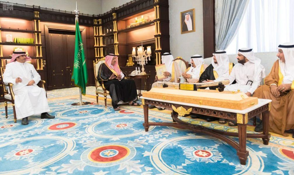 أمير منطقة الباحة يستقبل رئيس وأعضاء لجنة تراحم