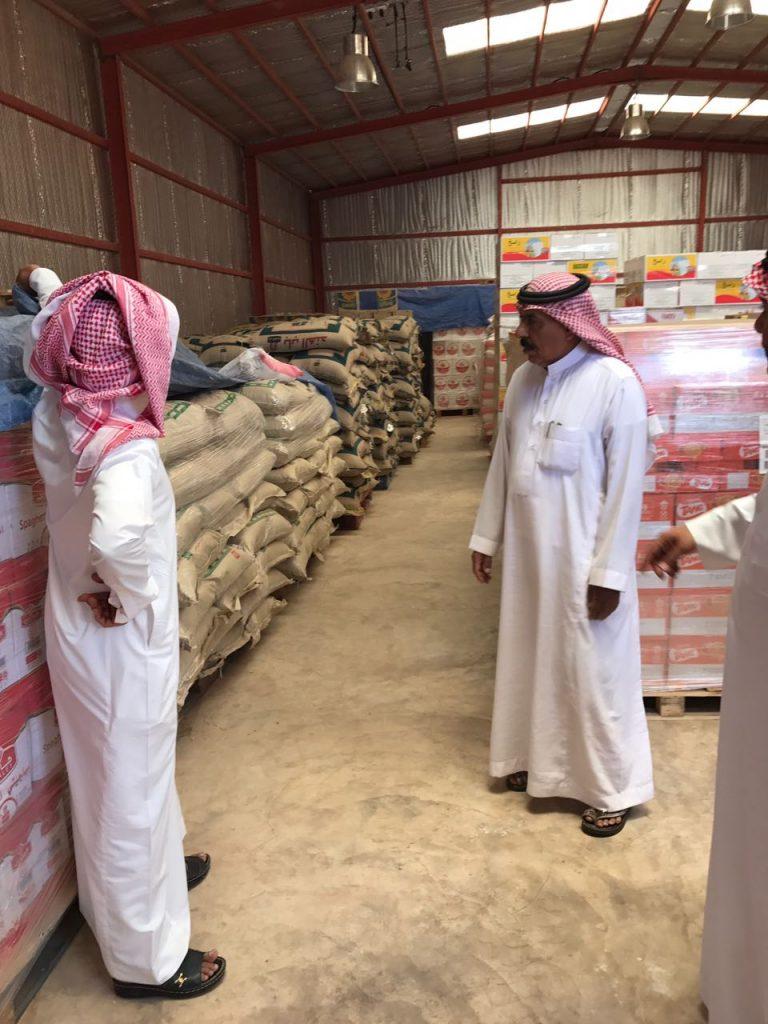 « جمعية خطة حائل» توزع المواد العينية لمستفيدنها لشهر رمضان المبارك