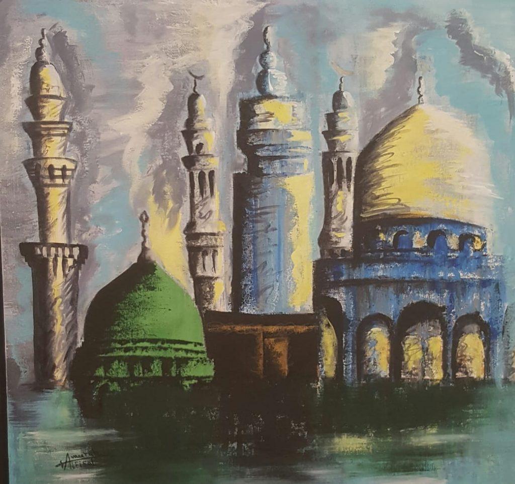 """معرض """"روحانيات رمضانية"""" بصالة رؤى الفن"""