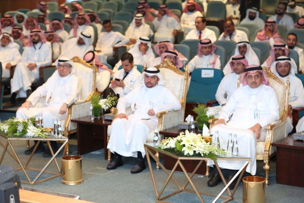 مدينة الملك سعود الطبية تحتفي بالمتقاعدين