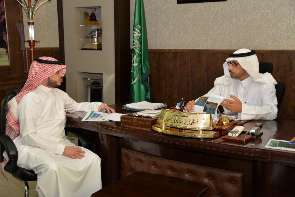 مدير عام خدمات المياه بجازان يتفقد الجهات التابعة للإدارة بمحافظة أبوعريش
