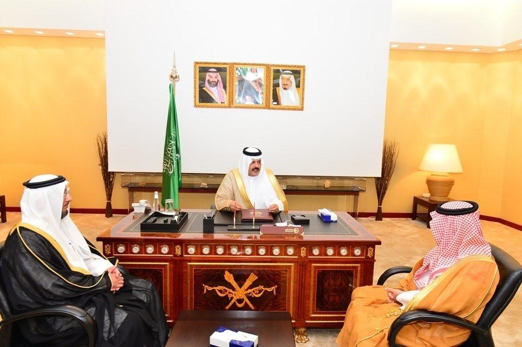 أمير منطقة حائل يستقبل رئيس المنظمة العربية للسياحة