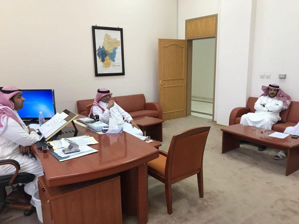 الفريق الكشفي التطوعي بمنطقة الباحة يجهز لبرامج رمضان والصيف