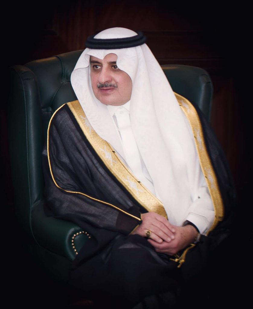 أمير تبوك يستقبل المهنئين بقدوم شهر رمضان غداً