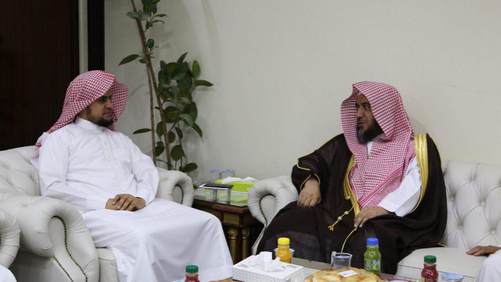 مؤسسة الأعمال الخيرية لعمارة المساجد تزور  إسلامية بتبوك