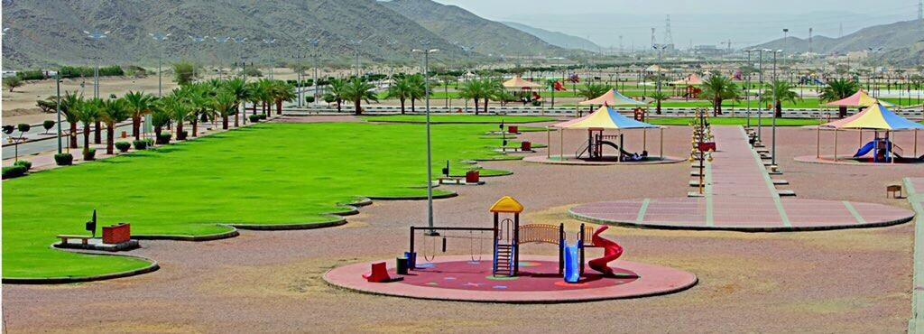 أمانة نجران تهيئ الحدائق والمتنزهات والميادين العامة لإستقبال الزوار خلال إجازة عيد الفطر والصيف