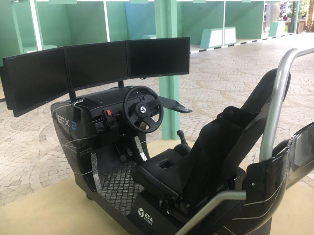 أمانة الجوف تتيح جهاز لتعلم قيادة المرأة للسيارة بمنتزه جنوب قارا