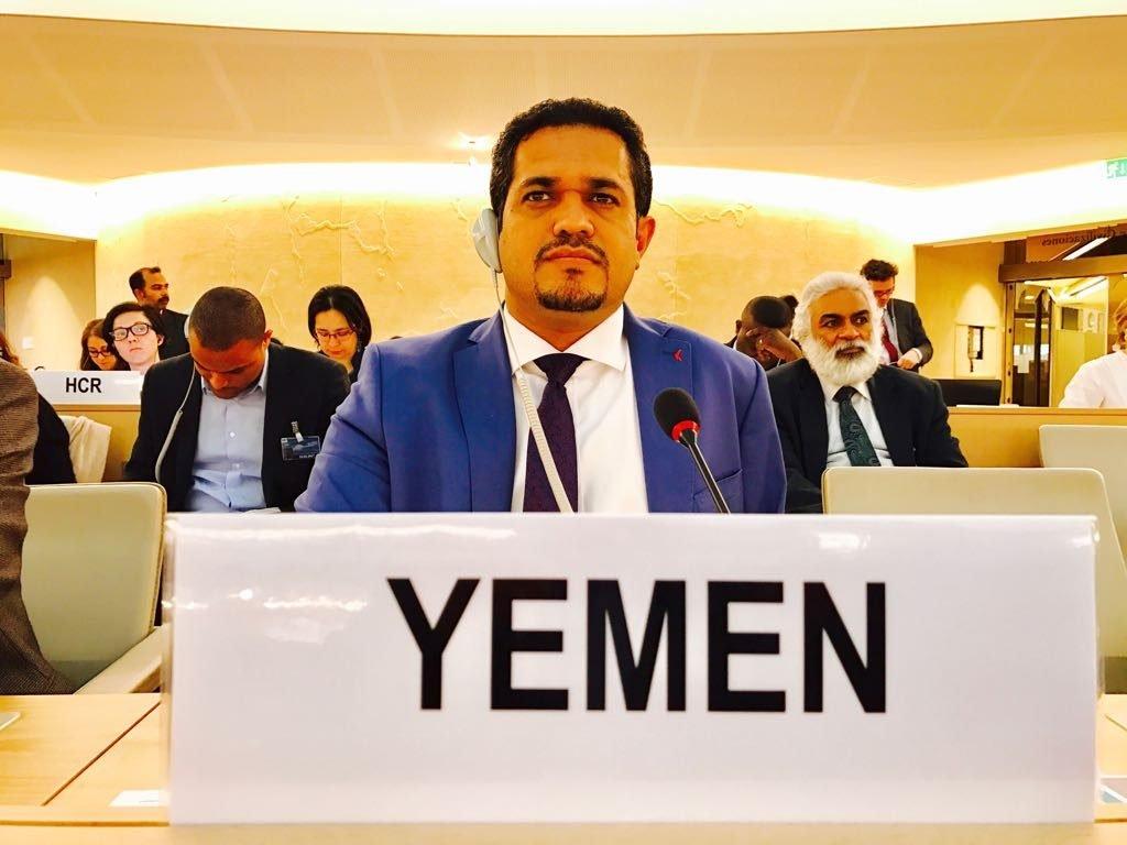 وزير حقوق الإنسان اليمني يؤكد أن الحكومة اليمنية وبمساندة دول التحالف اضطرت لاتخاذ قرار المواجهة العسكرية لاستعادة الحديدة