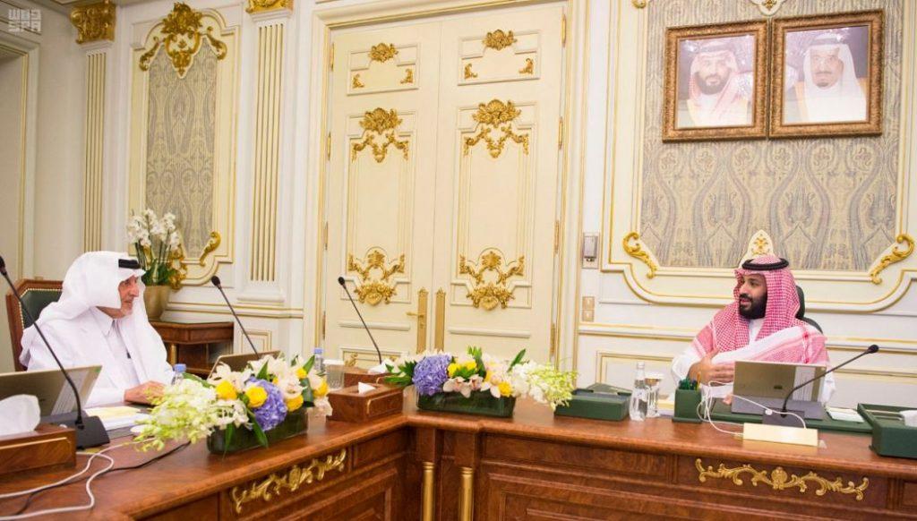 ولي العهد يرأس الاجتماع الأول لمجلس إدارة الهيئة الملكية لمدينة مكة والمشاعر المقدسة