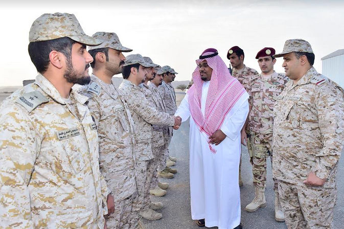 نائب أمير نجران يشيد بالقدارات القتالية لمنسوبي الدفاع الجوي