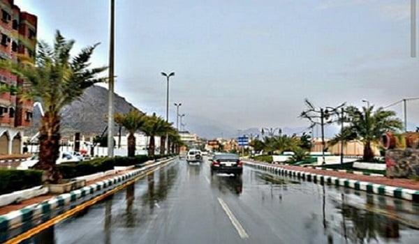 أمطار على محافظة المجاردة
