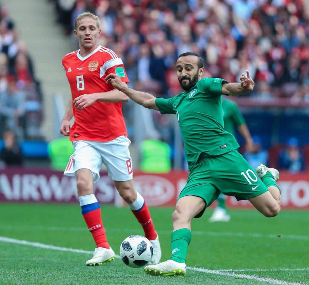 أمام 80 ألف متفرج خسارة الأخضر أمام روسيا بخماسية نظيفة