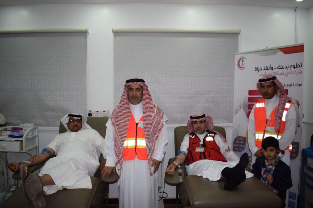 الهلال الأحمر بالشماليه يطلق مبادرة تبرع بدمك وانقذ حياة