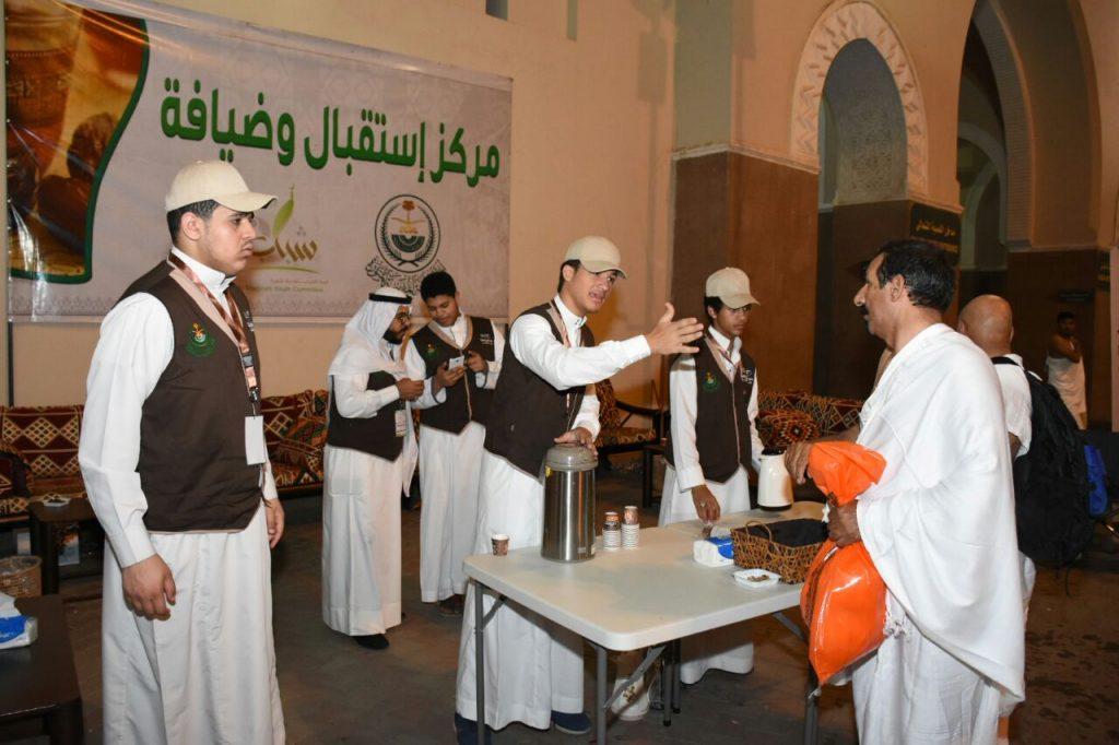 اللجنة الشبابية للأعمال التطوعية في خدمة زوار المدينة