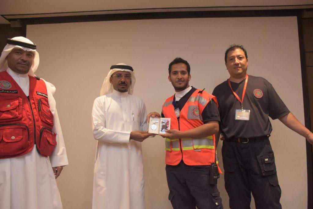 هيئة الهلال الأحمر بالمدينة تكرم فرق المتطوعين والمتطوعات