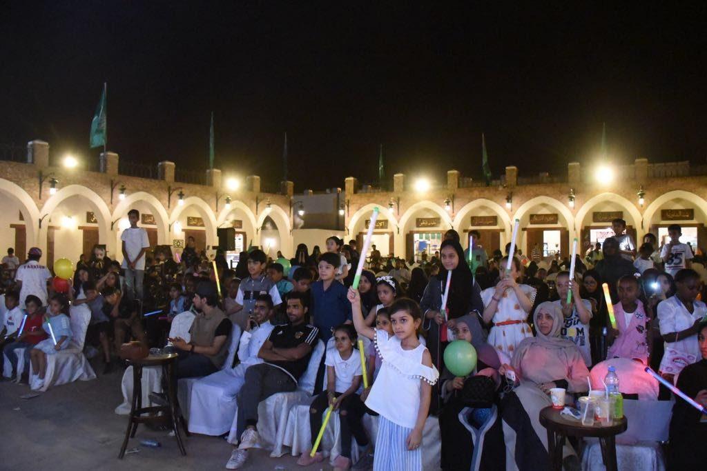 فنون المدينة تختتم فعاليات العيد بالهوية الحجازية