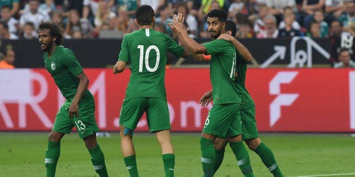 أبناء شهداء الواجب يشاركون المنتخب السعودي افتتاح كأس العالم