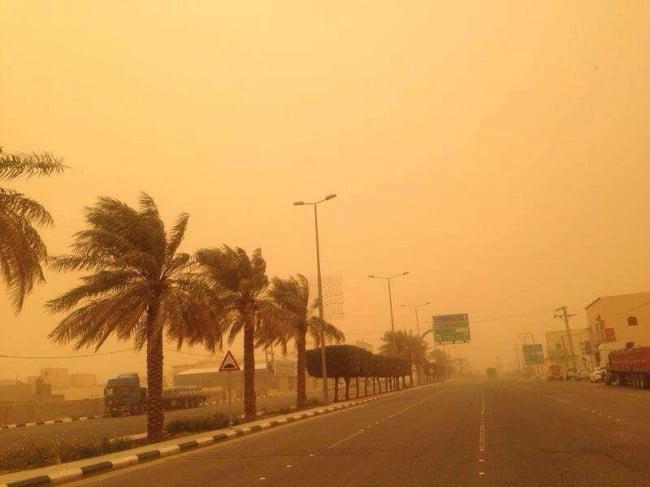 الأرصاد : طقس حار إلى شديد الحرارة على منطقتي الشرقية والغربية و نشاط للرياح السطحية على 9 مناطق