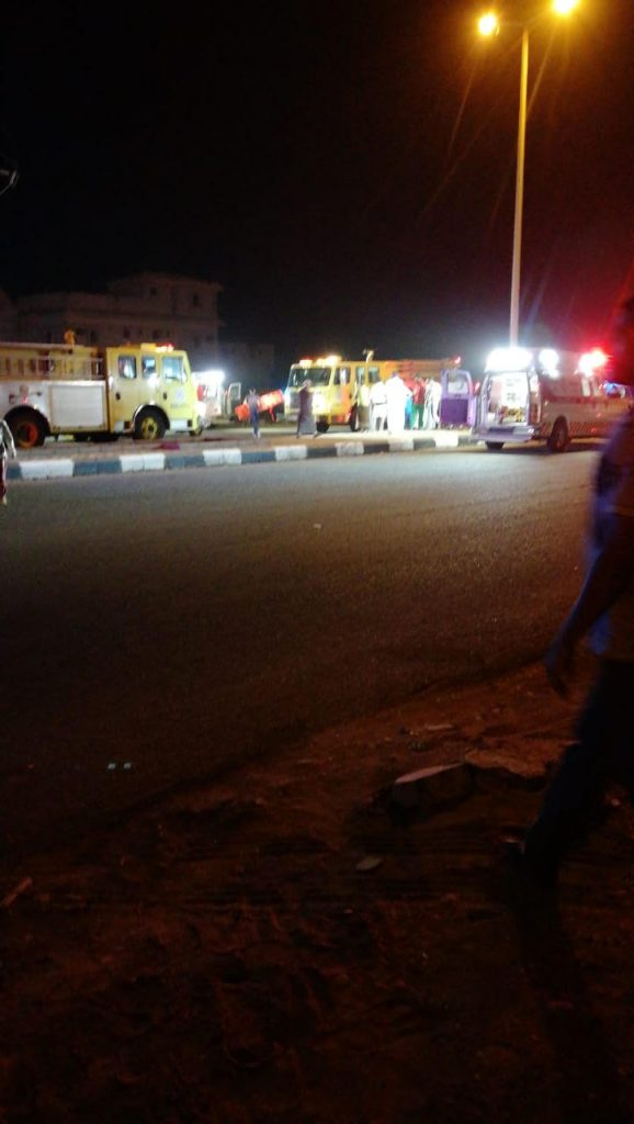 حادث مروع يخلف 5 وفيات و 3 إصابات منهم أطفال بالمضايا بجازان