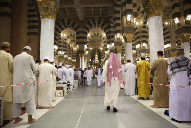 وكالة شؤون المسجد النبوي تكثف جهودها في ليلة السابع والعشرون وليلة ختم القرآن الكريم