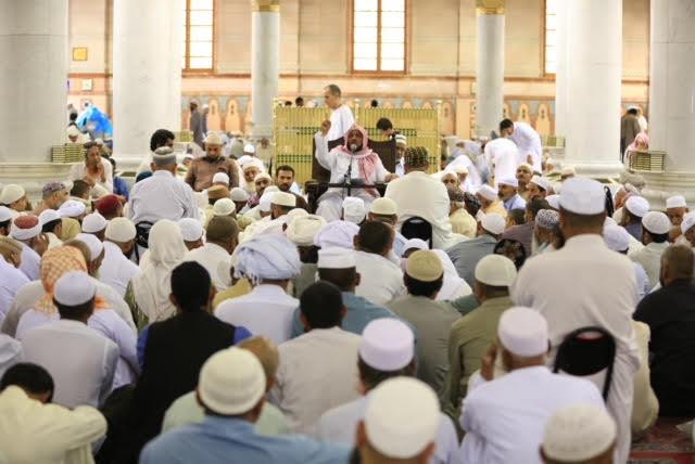 أكاديمية خدمات الزائرين تقيم محاضرة بعنوان ( أحكام زيارة المدينة المنورة والمسجد النبوي )