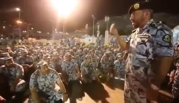 شاهد.. هكذا يتم توجيه رجال الأمن للتعامل مع زوار بيت الله الحرام