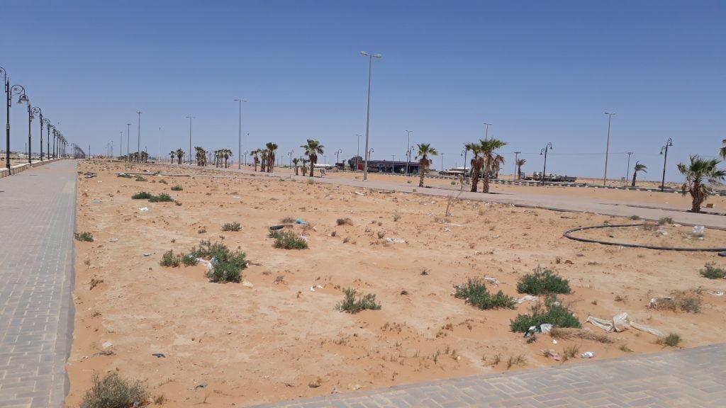 الإهمال يُسلب حدائق محافظة طريف جمالها
