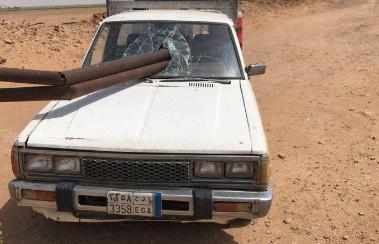 مصرع عامل آسيوي عقب اصطدامه بسياح حديدي بوادي الدواسر