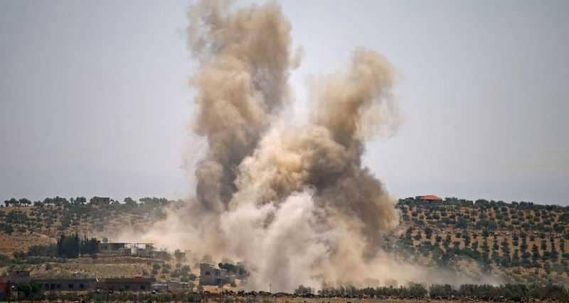 """درعا.. 14 قتيلا من النظام والمعارضة بهجوم """"داعشي"""""""