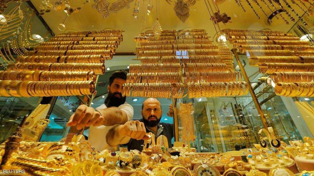 انخفاض في أسعار الذهب مع ارتفاع الدولار مقابل اليوان