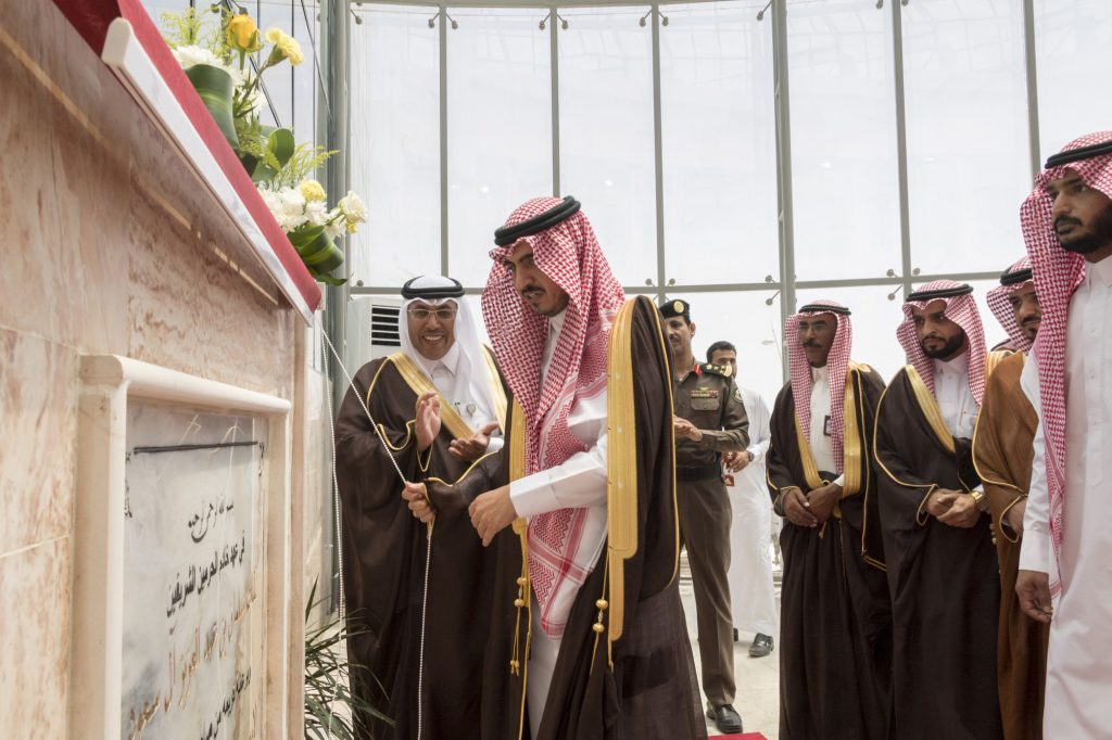 أمير الجوف يفتتح مبني بلدية محافظة القريات