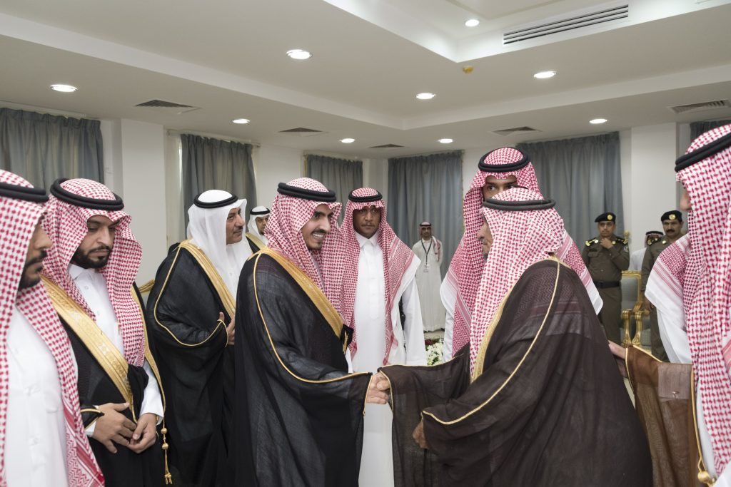 أمير الجوف يختتم زياراته التفقدية للمحافظات بلقاء الأهالي بأبو عجرم