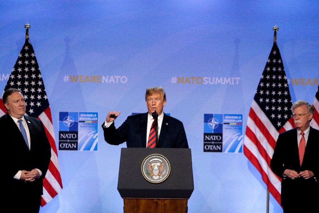ترمب: إيران تتعامل مع الولايات المتحدة بقدر أكبر بكثير من الاحترام مما كان عليه الحال في السابق