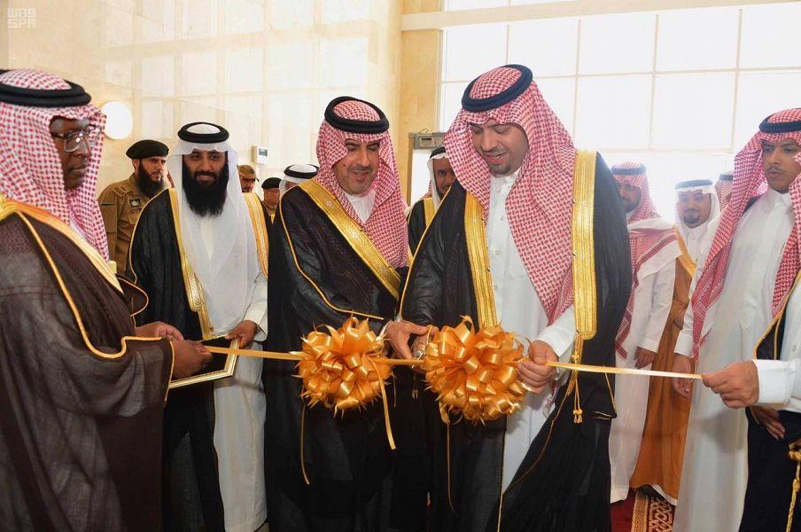 الأمير فيصل بن خالد بن سلطان يدشّن مبنى فرع ديوان المراقبة العامة بالحدود الشمالية