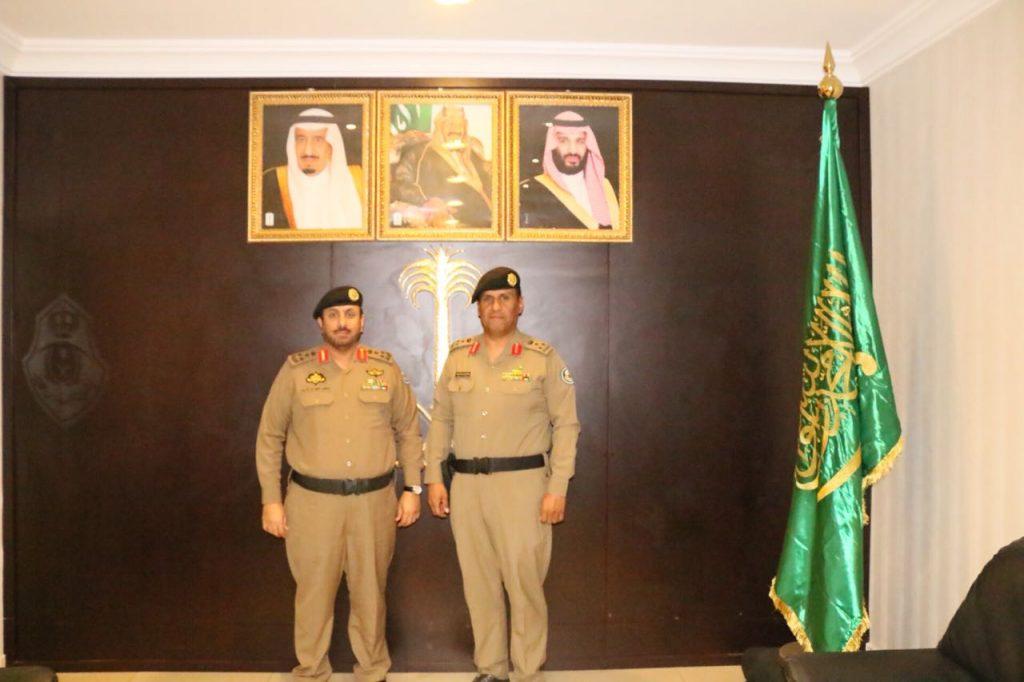 الحماد إلى عميد بالقوات الخاصة لأمن الطرق بمنطقة مكة