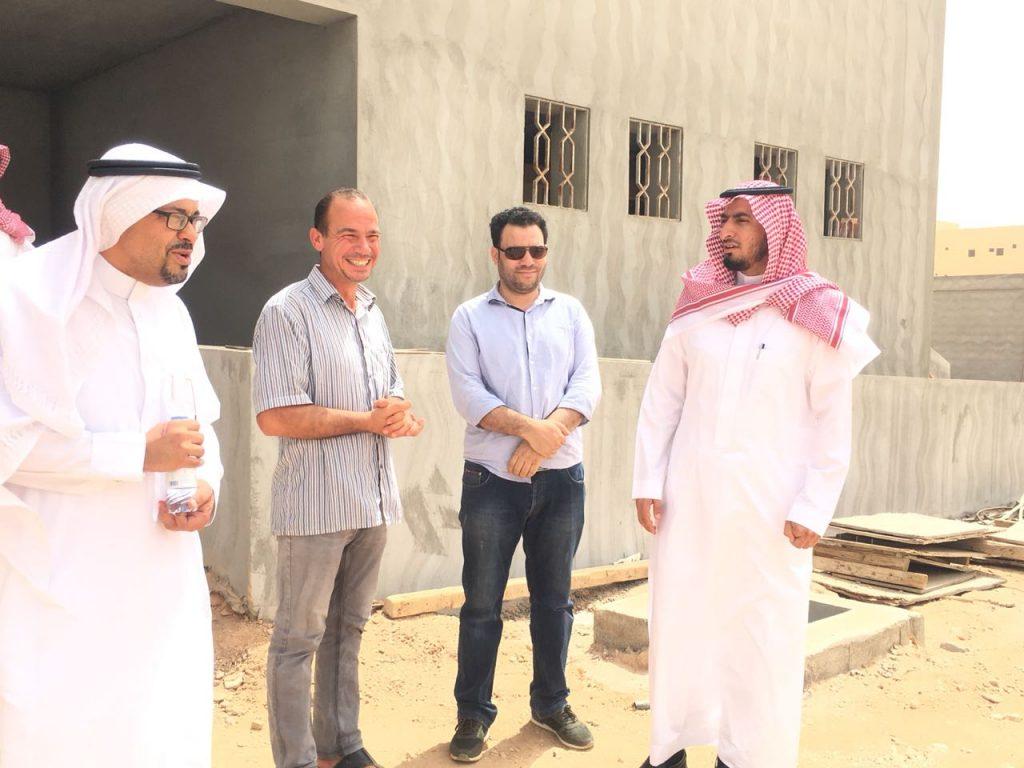 مدير تعليم الأفلاج يقف على مشاريع الـ41 مليوناً ويرصد الإنجاز