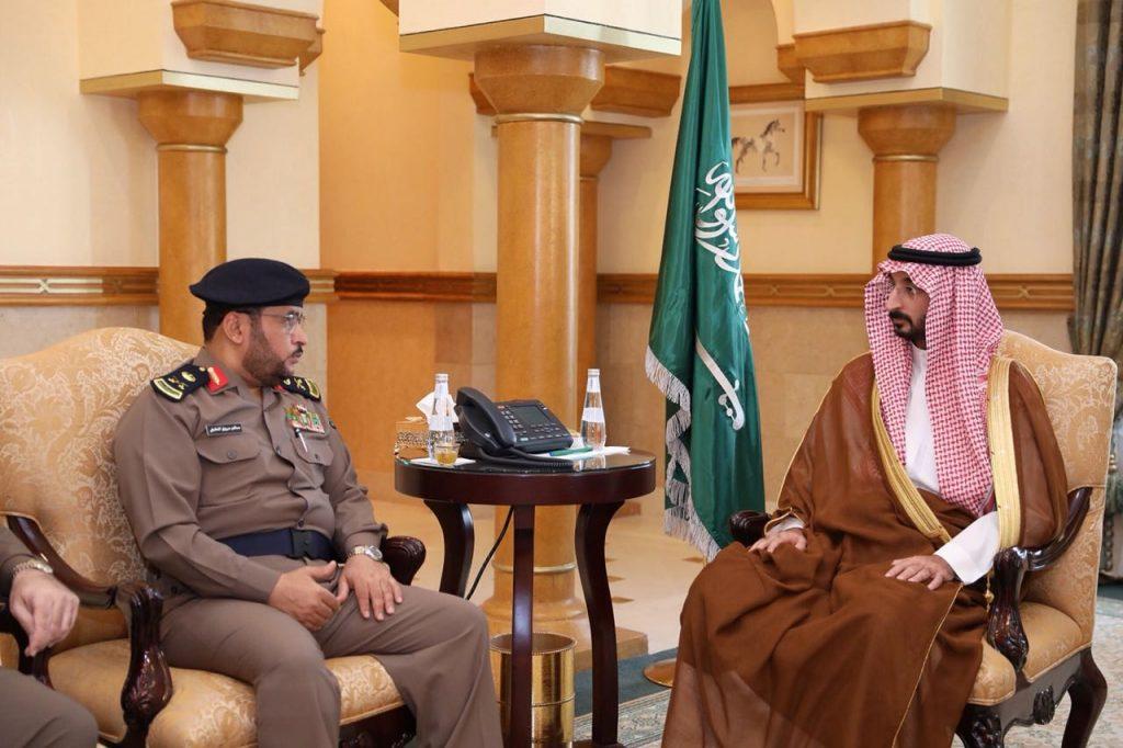 نائب أمير مكة يتسلم نتائج أعمال الدفاع المدني بالعاصمة المقدسة خلال شهر رمضان
