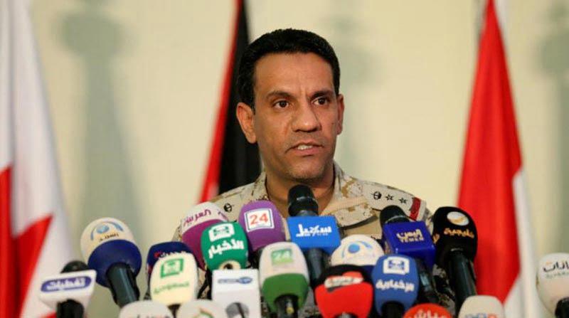 التحالف : اعتراض صاروخ بالستي وتدميره أطلقته المليشيا الحوثية من الأراضي اليمنية تجاه محافظة الشقيق