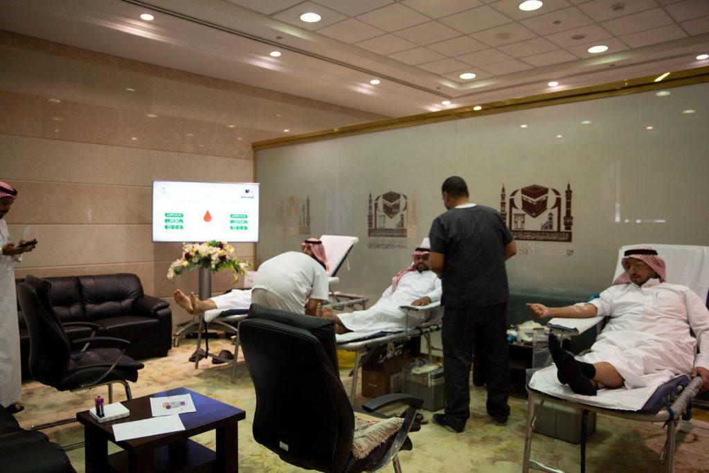 لدعم جنودنا البواسل … وكالة شؤون المسجد النبوي تطلق حملة للتبرع بالدم
