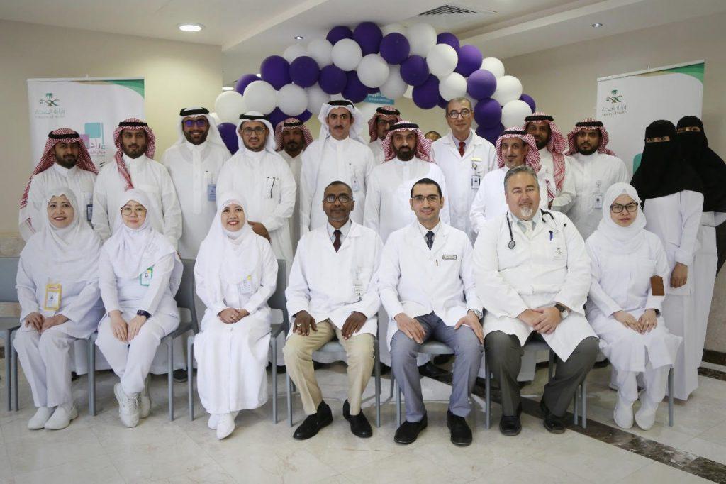 تدشين عيادات الأورام في مستشفى الملك سلمان التخصصي بحائل