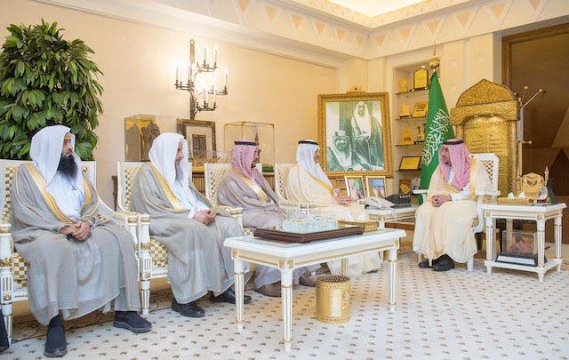 أمير القصيم يستقبل رئيس وأعضاء مجلس جمعية البر الخيرية بمحافظة الرس