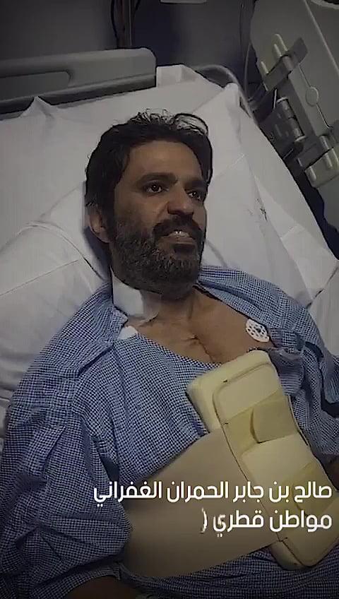 """شاهد.. مأساة قطرية جديدة ضحيتها المواطن القطري""""صالح الغفراني"""""""