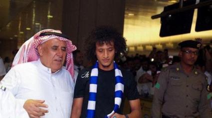 شاهد.. لحظة وصول اللاعب عموري ثاني أغلى صفقة في العالم إلى الرياض